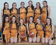 U19 Girls Basketball Team win their first league game of the season
