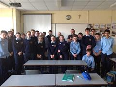 Kerry SPCA Visit 3 Breandan CSPE Class