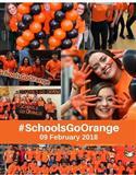 Schools Go Orange