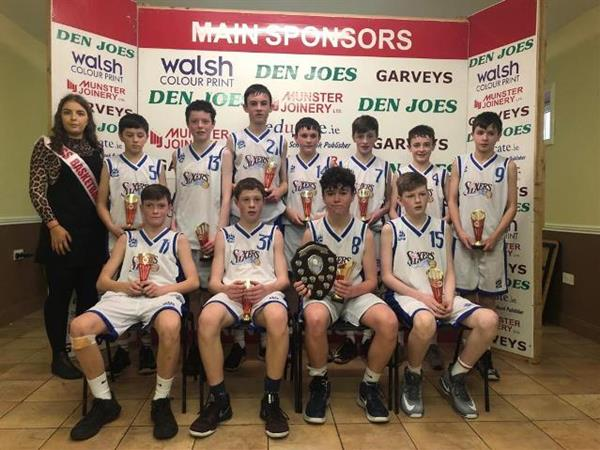 U14 Boys win at Castleisland Blitz 2018