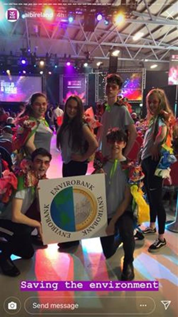 Envirobank attend AIB Build A Bank Finals
