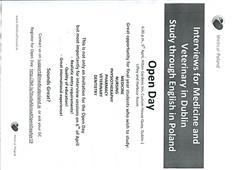 Open Day for Medicine & Veterinary