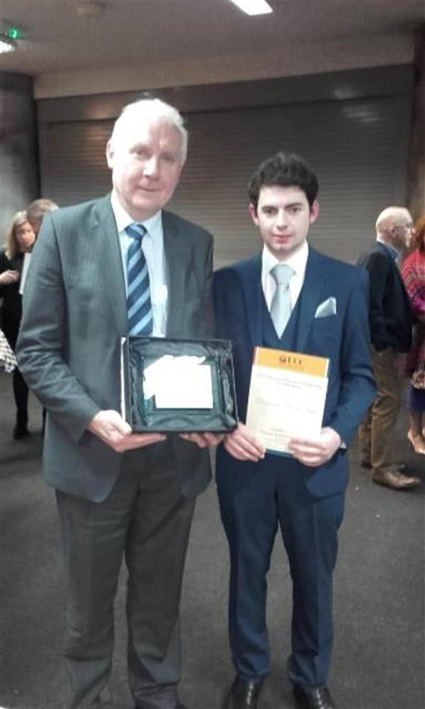Scholarship Awards for Diarmaid Nagle
