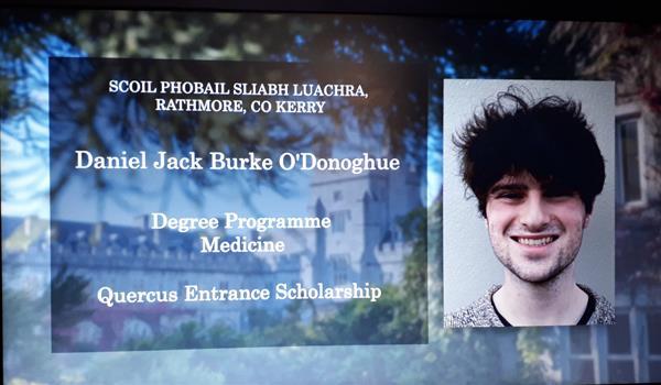 Congratulations Daniel